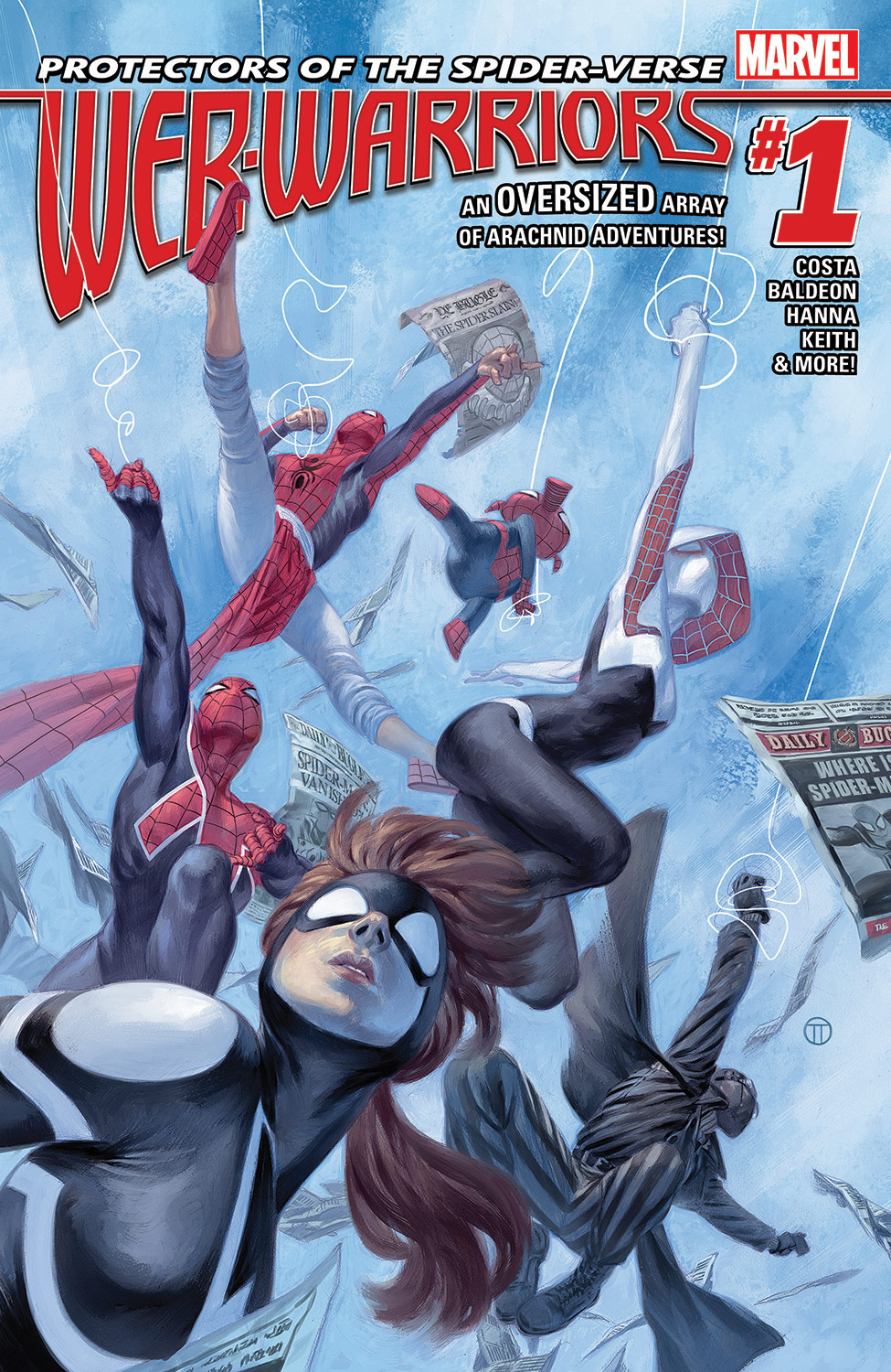 Web Warriors (2015) #1