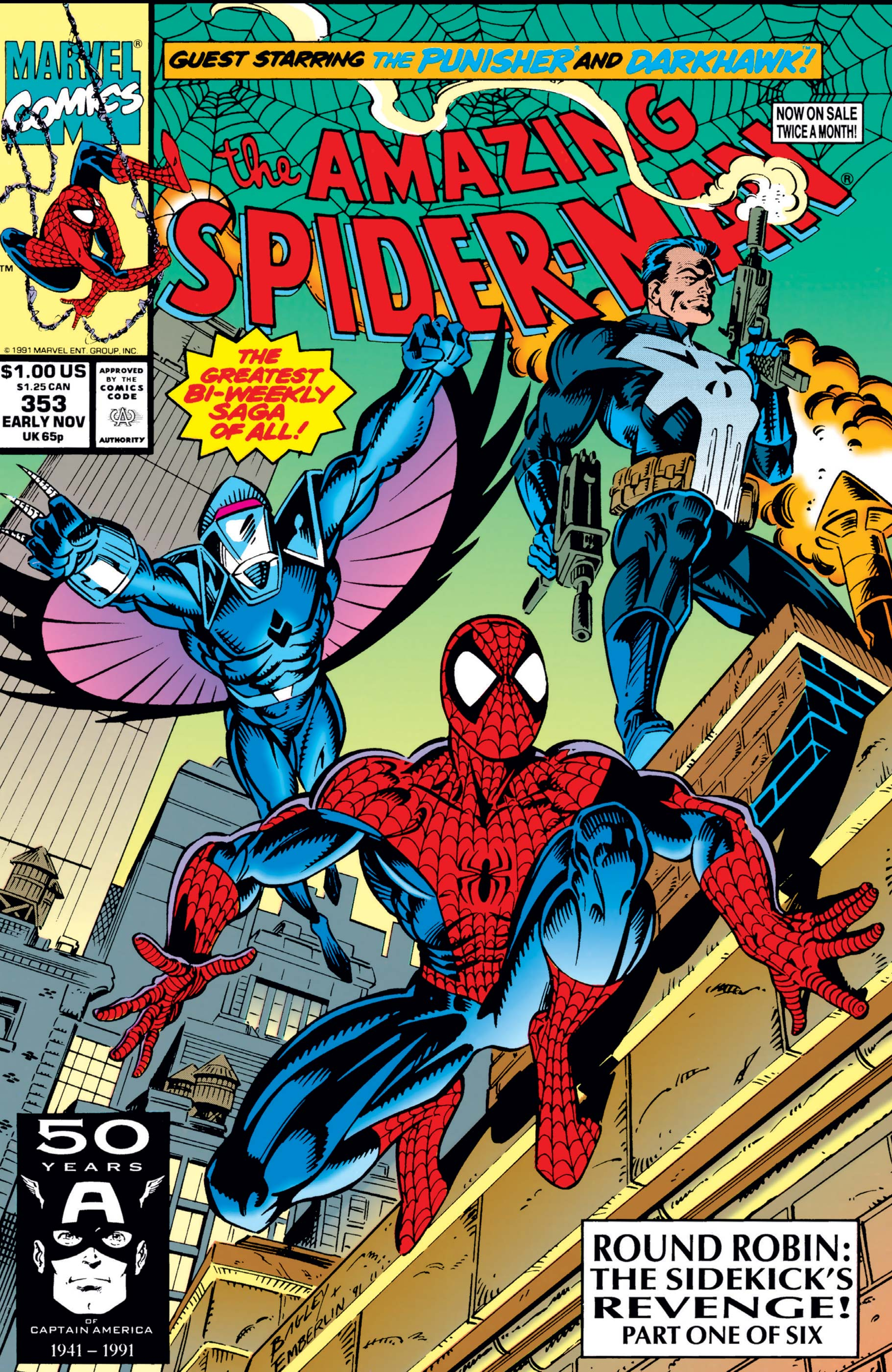 The Amazing Spider-Man (1963) #353