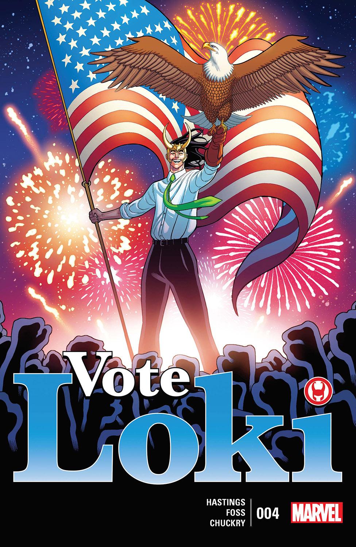 Vote Loki (2016) #4
