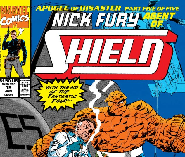 Nick Fury, Agent of Shield (1989) #19