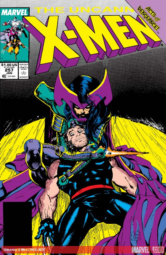 Uncanny X-Men (1963) #257