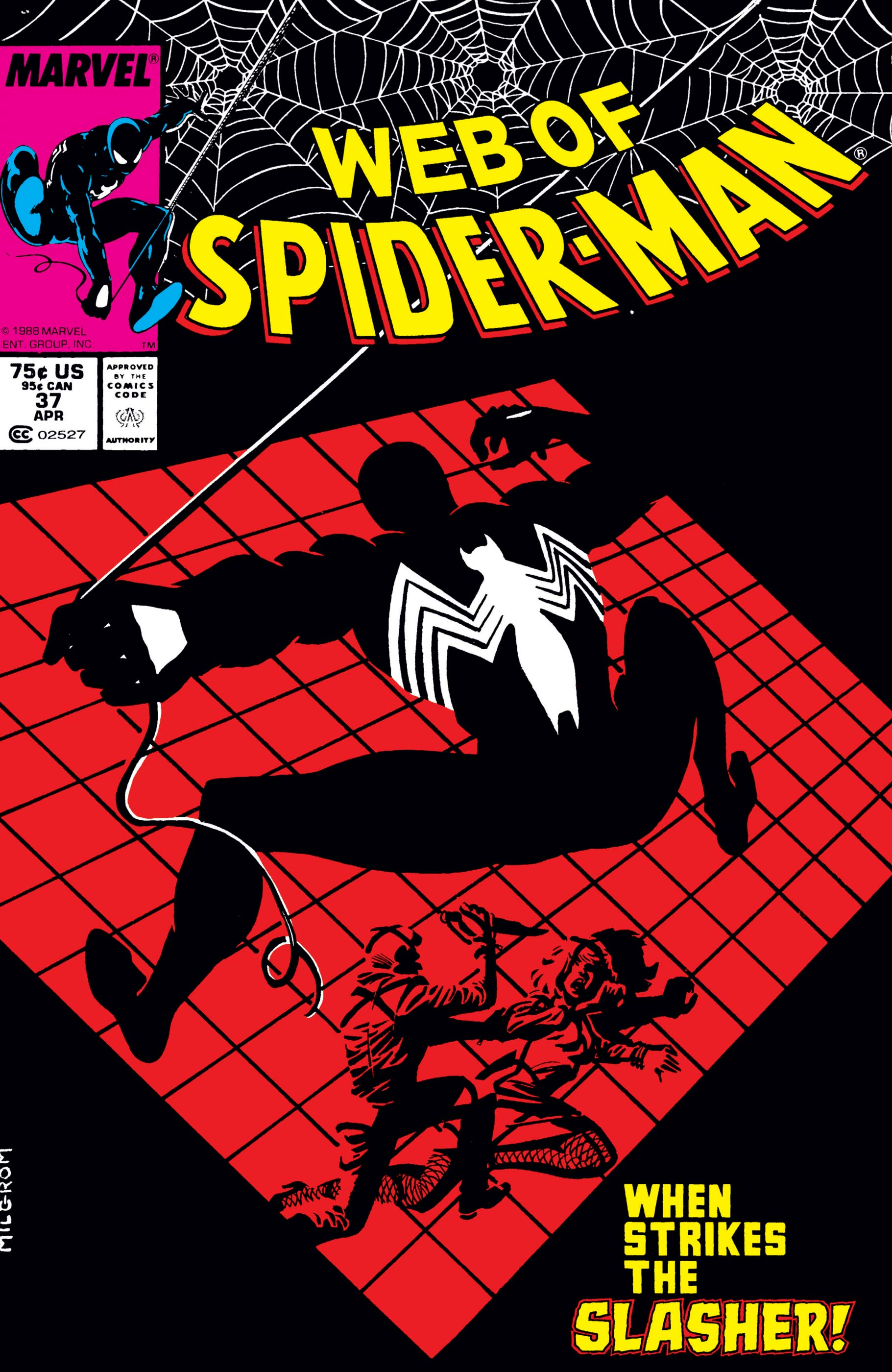 Web of Spider-Man (1985) #37
