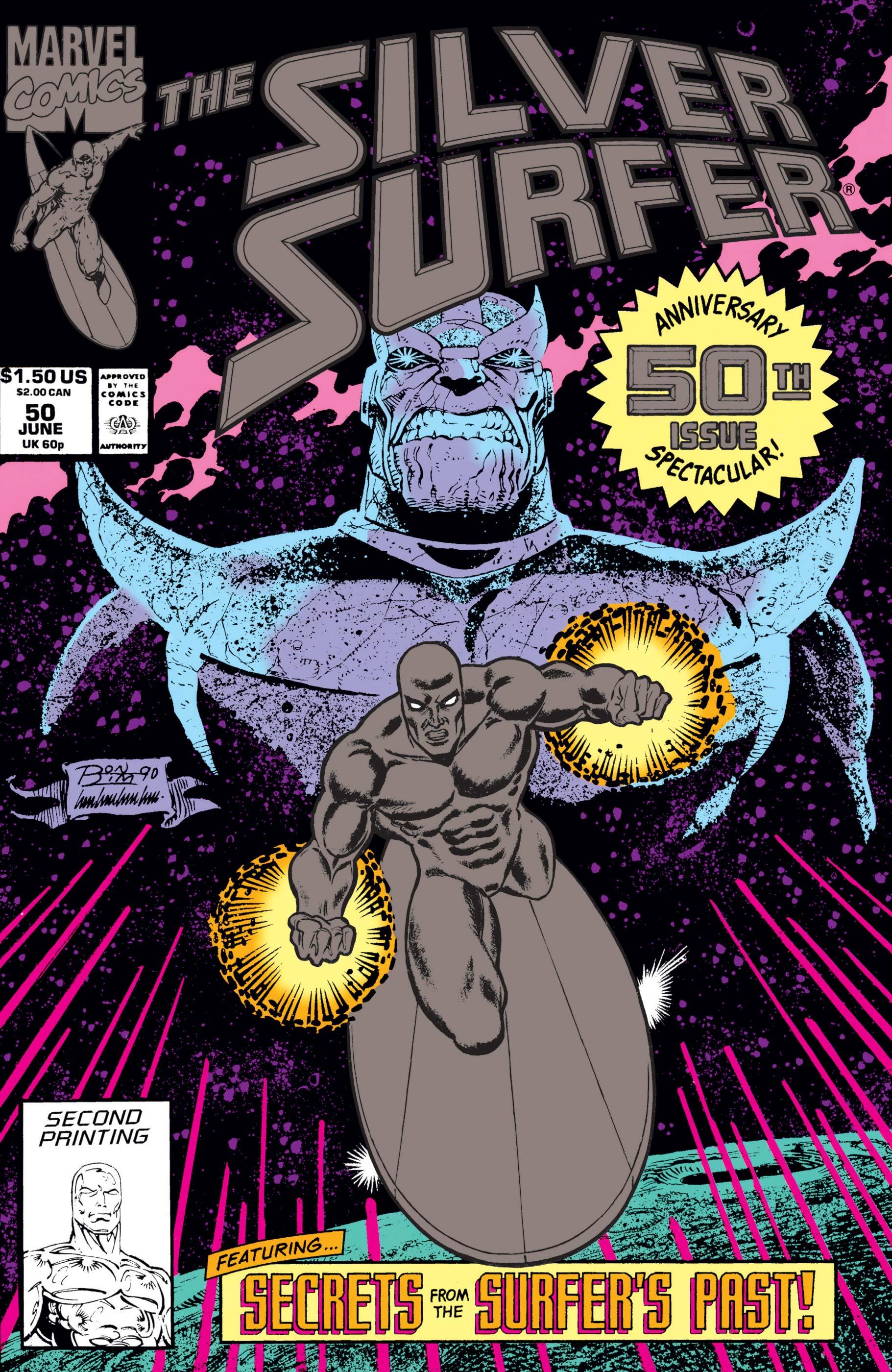 Silver Surfer (1987) #50