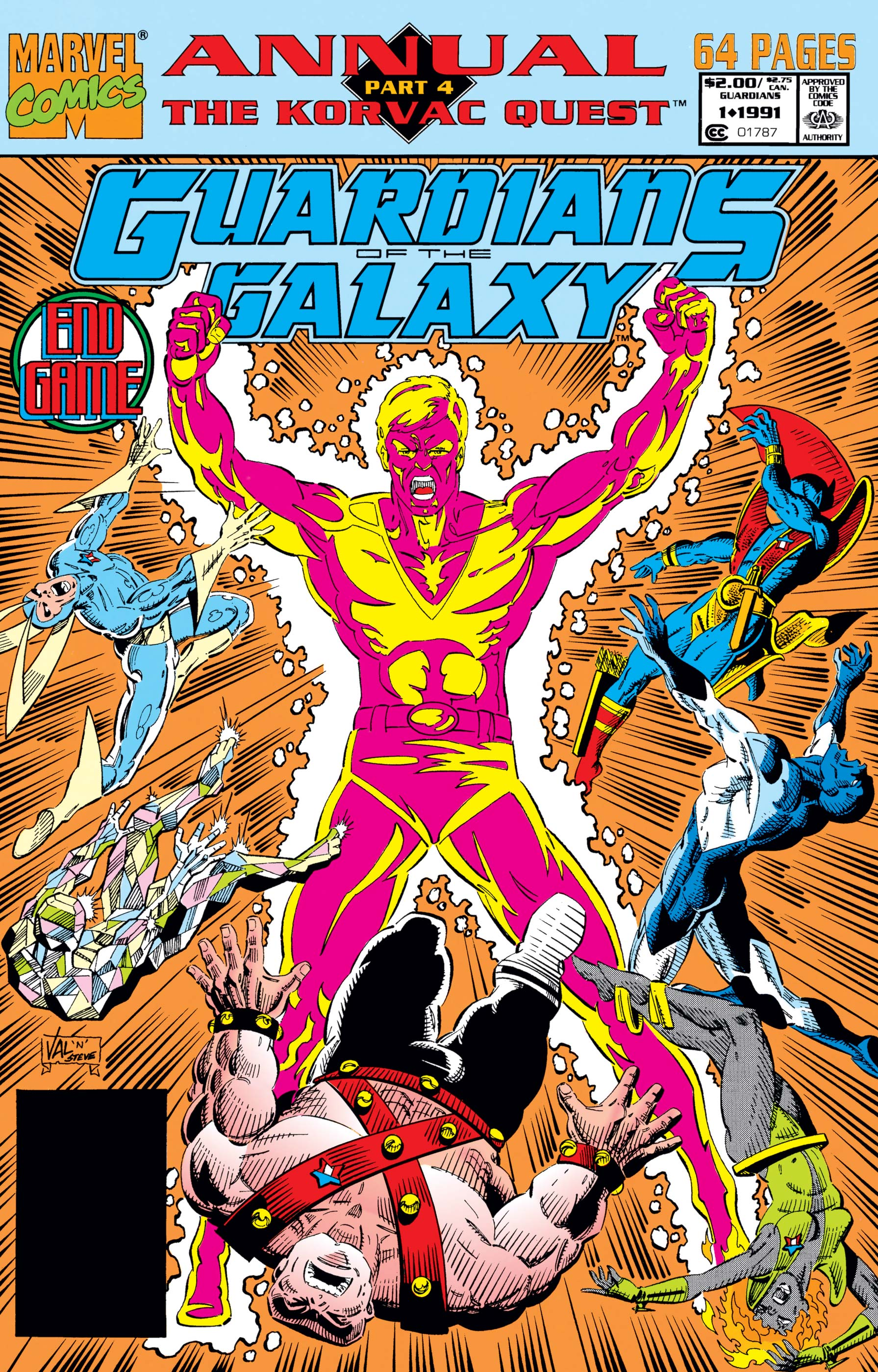 Guardians of the Galaxy Annual (1991) #1