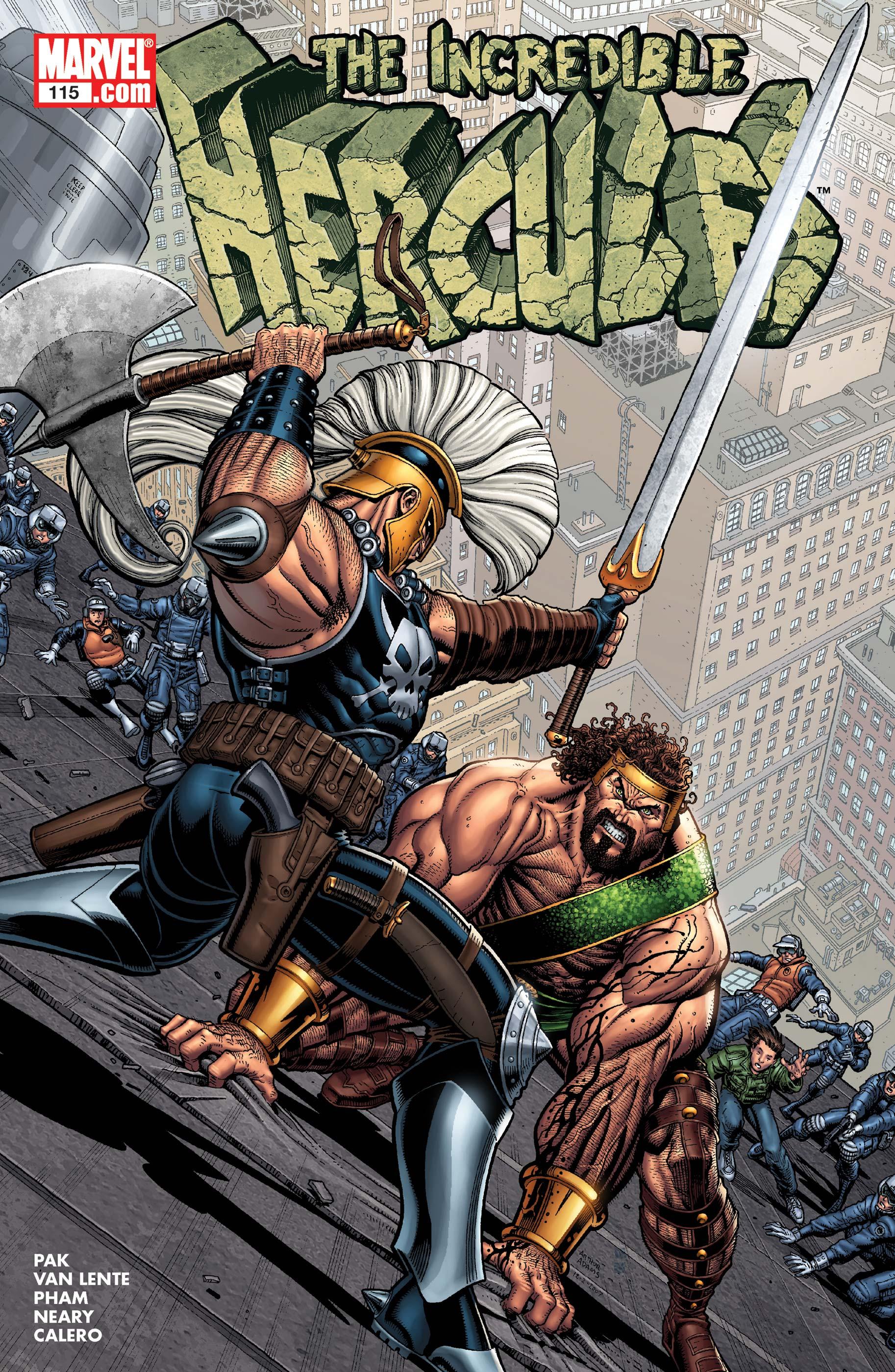 Incredible Hercules (2008) #115