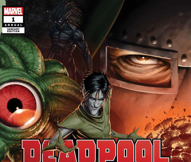 DEADPOOL ANNUAL 1 CHRISTOPHER CONNECTING VARIANT #1