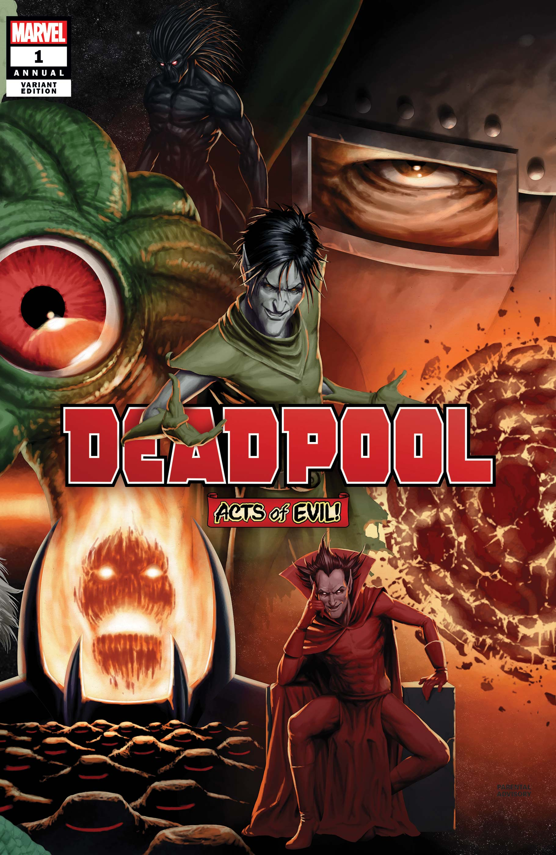 Deadpool Annual (2019) #1 (Variant)