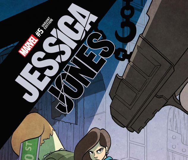 Jessica Jones (2016) #5, Fosgitt Variant