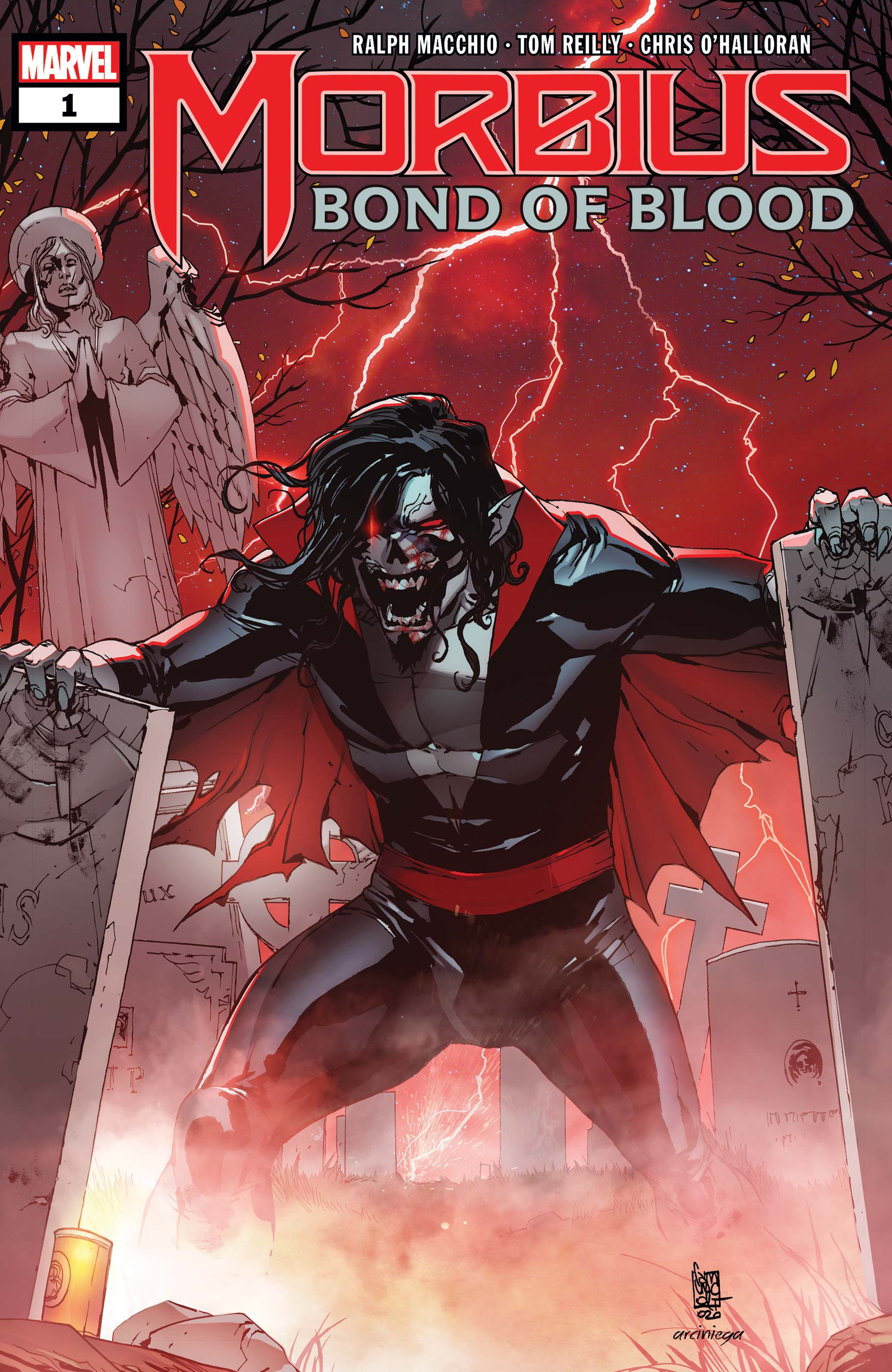 Morbius: Bond Of Blood (2021) #1