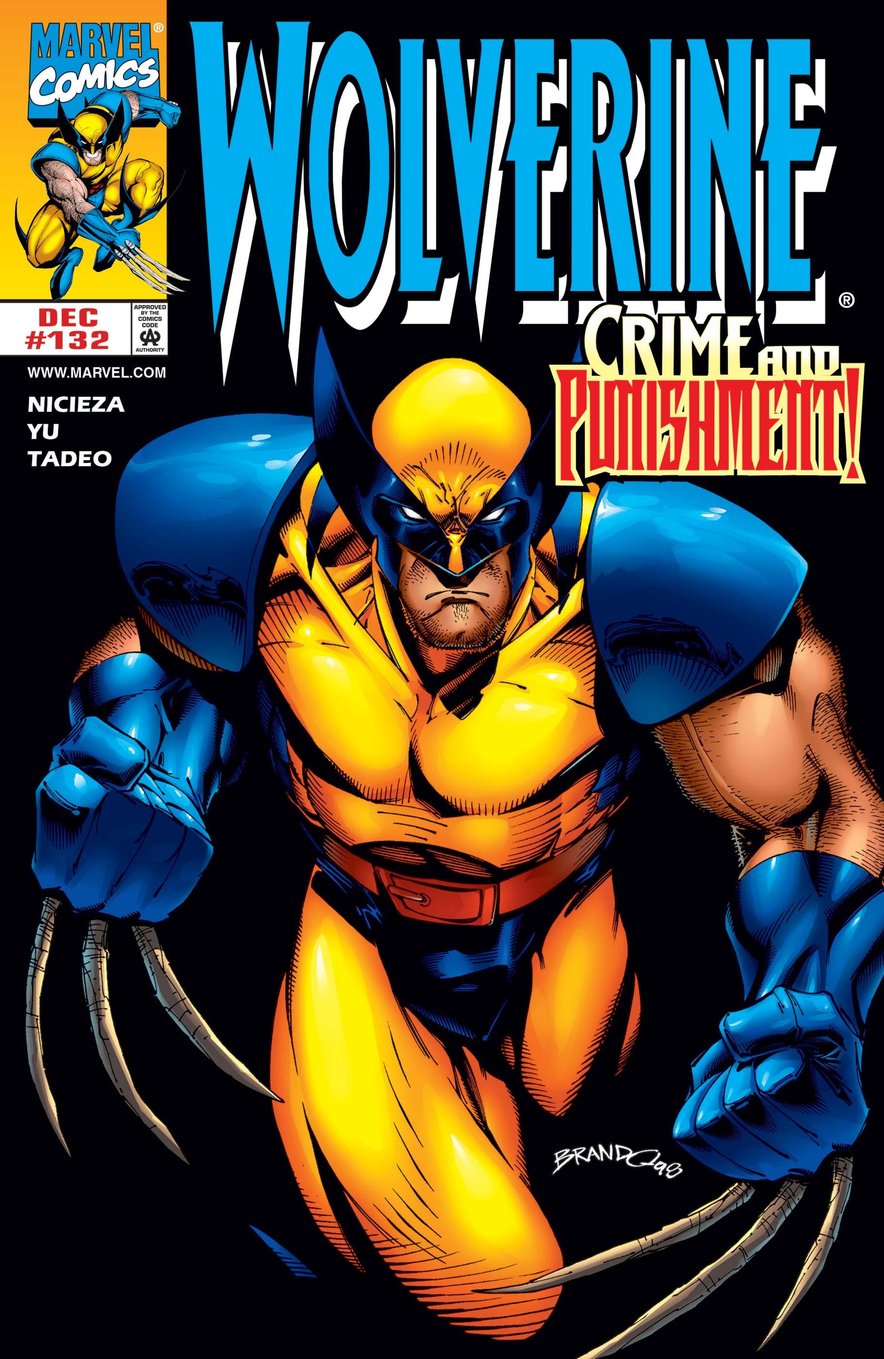 Wolverine (1988) #132
