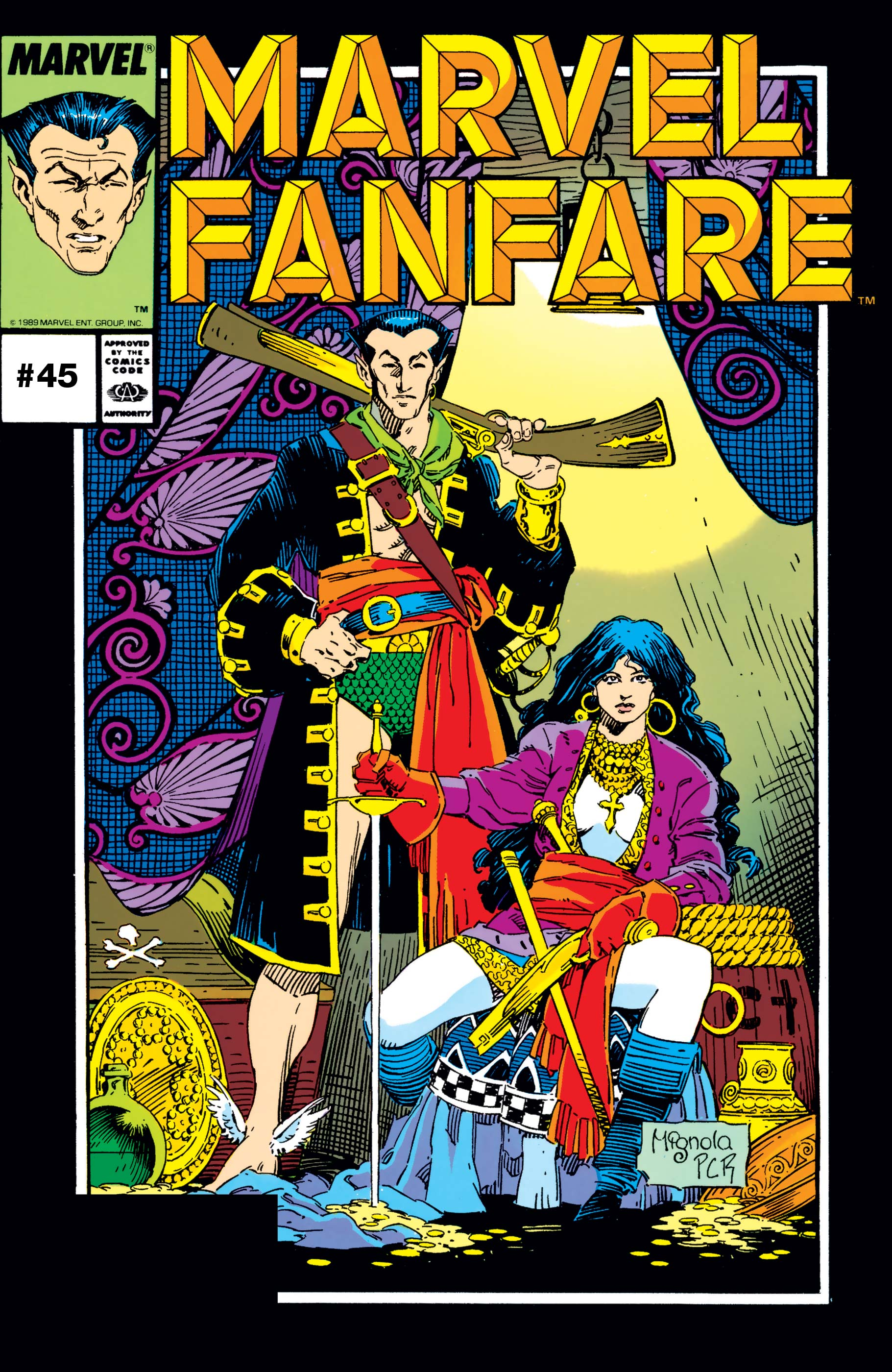 Marvel Fanfare (1982) #45