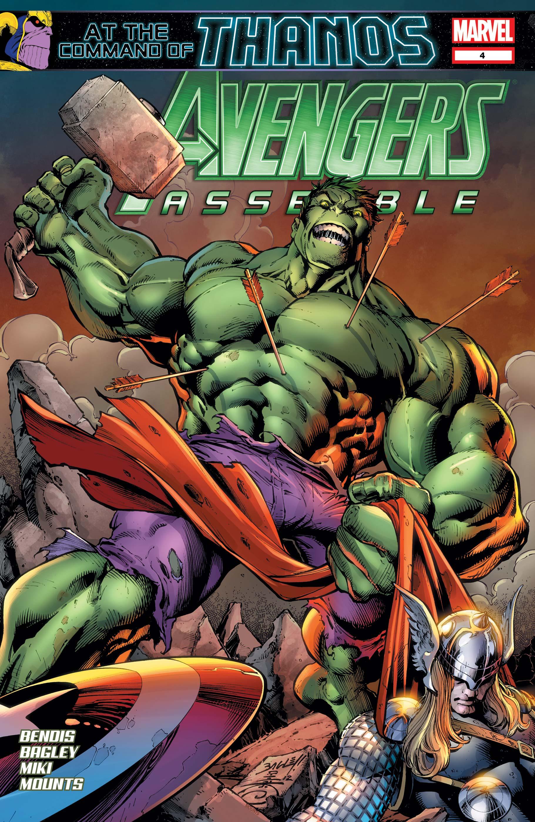 Avengers Assemble (2012) #4