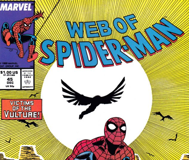 Web of Spider-Man (1985) #45