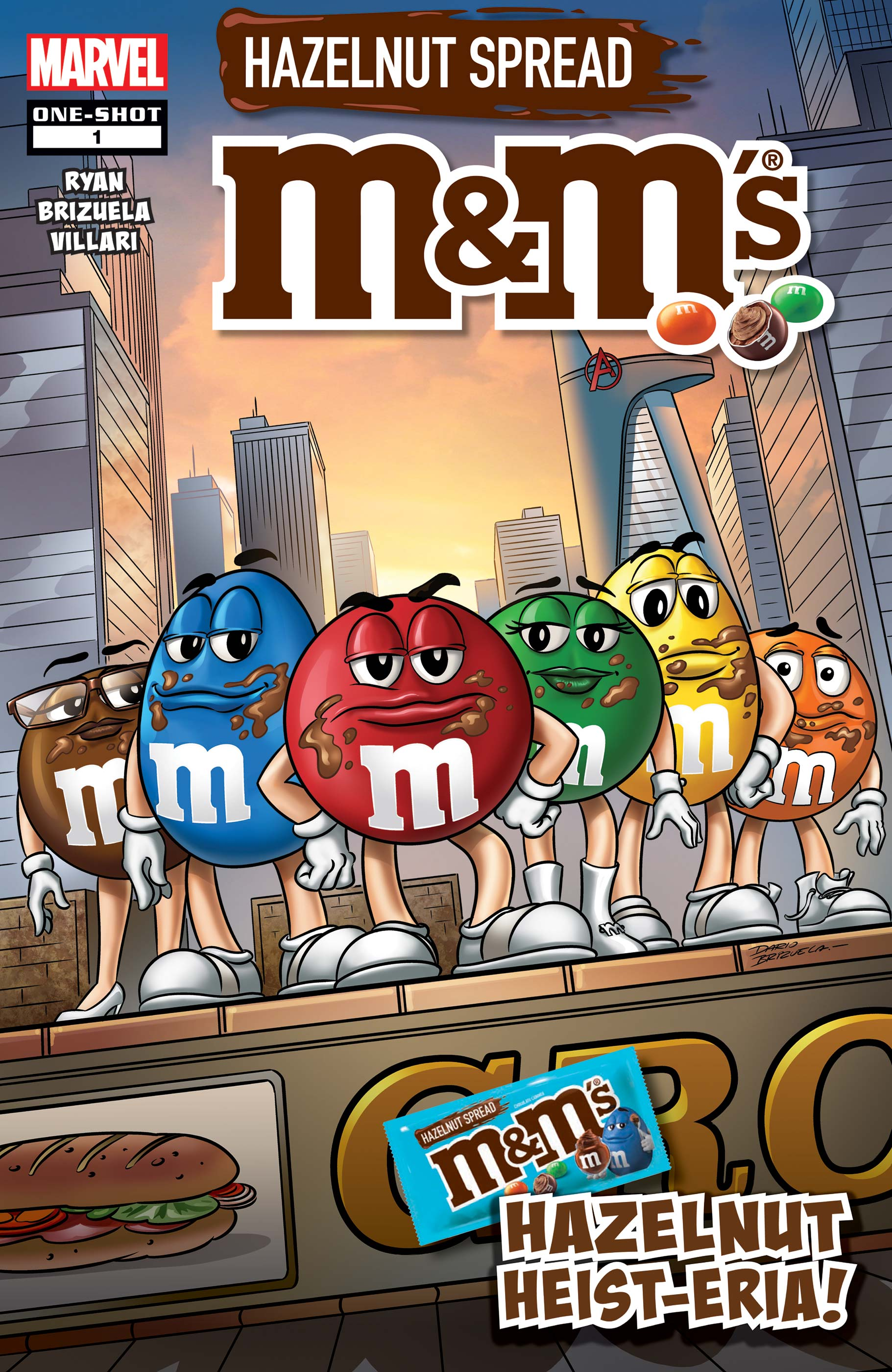 M&M's, Hazelnut Hysteria: One-Shot  (2019)