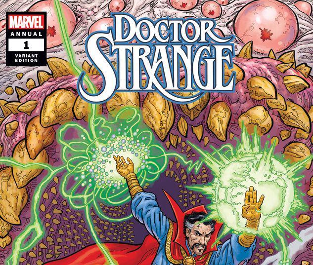 DOCTOR STRANGE ANNUAL 1 SKROCE VARIANT #1