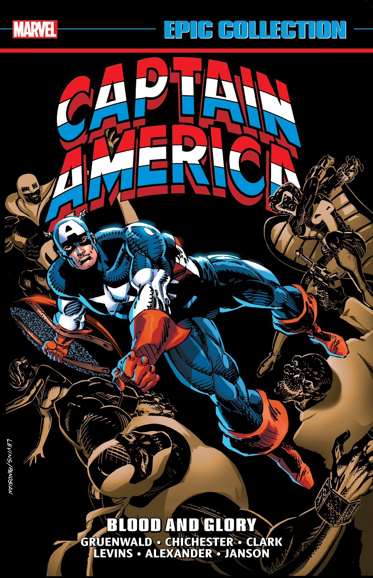 Captain America Epic Collection: Blood And Glory (Trade Paperback)