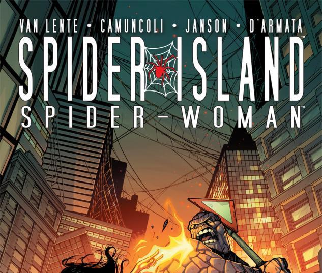 Spider-Island: Spider-Woman (2011) #1