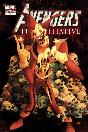 Avengers: The Initiative #18  (ZOMBIE VARIANT)