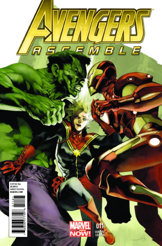 Avengers Assemble (2012) #11 (Perger Variant)