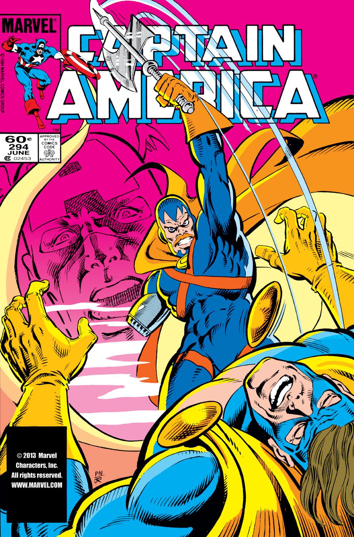 Captain America (1968) #294 | Comics | Marvel.com