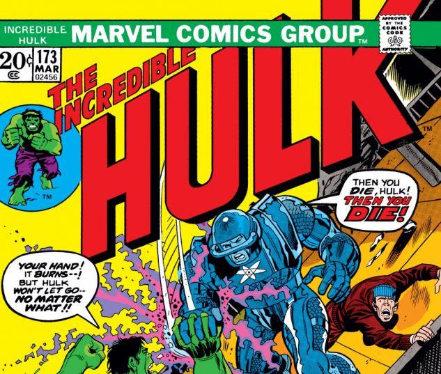 Incredible Hulk (1962) #173 Cover