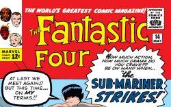 Fantastic Four (1961) #14 Cover