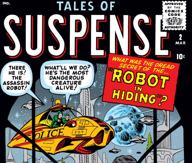 Tales of Suspense (1959) #2 Cover