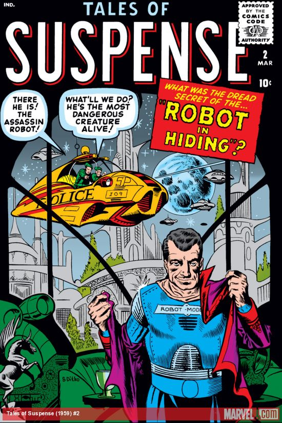 Tales of Suspense (1959) #2