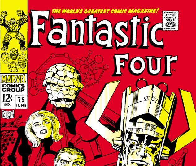 Fantastic Four (1961) #75 Cover