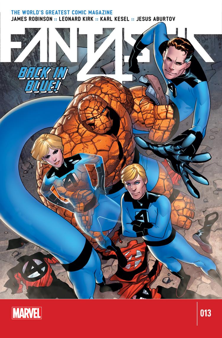 Fantastic Four (2014) #13