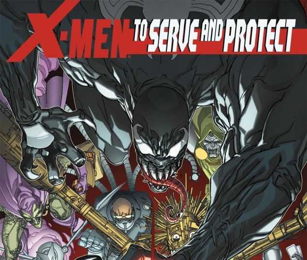 X-Men: To Serve and Protect #4