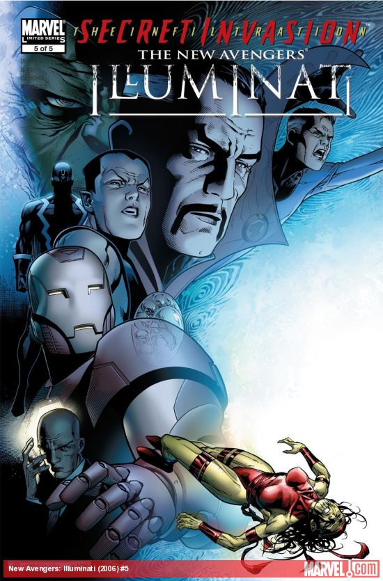 New Avengers: Illuminati (2006) #5