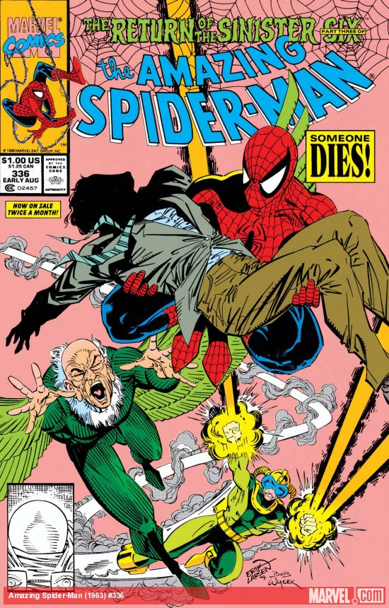 The Amazing Spider-Man (1963) #336