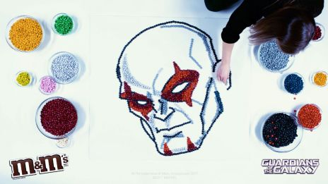 M&M's x Guardians of the Galaxy: Drax