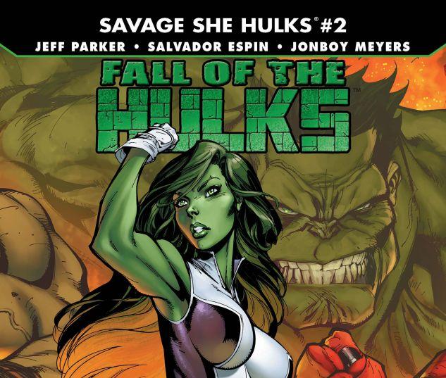FALL OF THE HULKS: THE SAVAGE SHE-HULKS (2010) #2