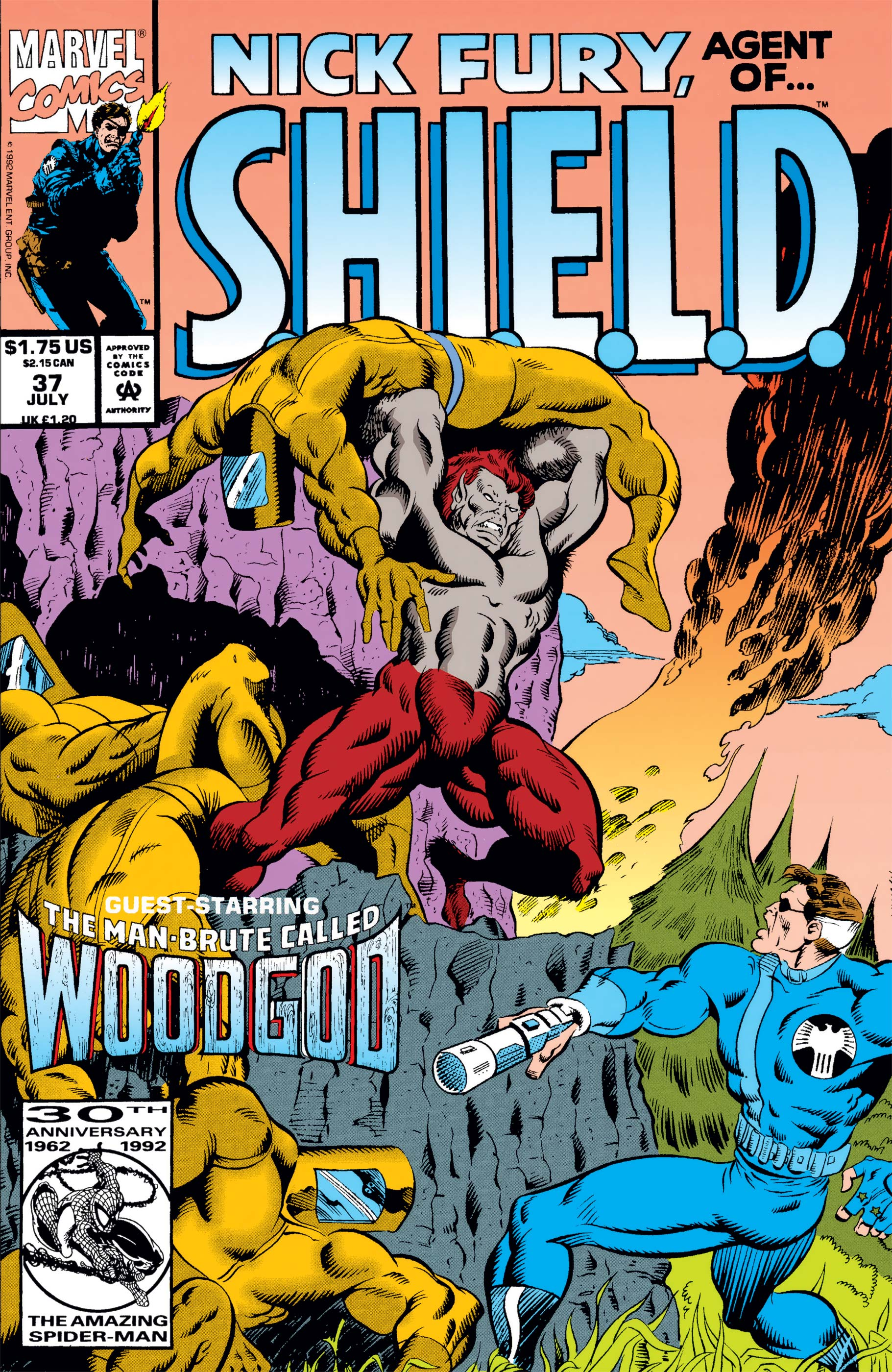 Nick Fury, Agent of S.H.I.E.L.D. (1989) #37