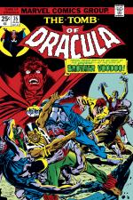 Tomb of Dracula (1972) #35 cover