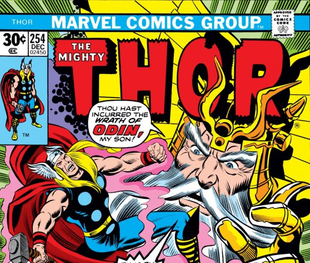 Thor (1966) #254 Cover