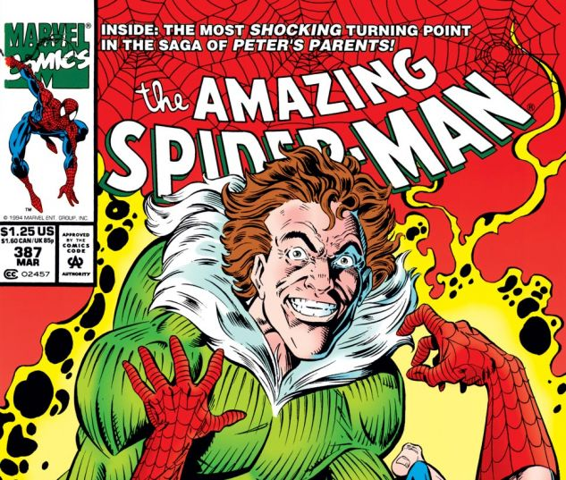 Amazing Spider-Man (1963) #387 Cover