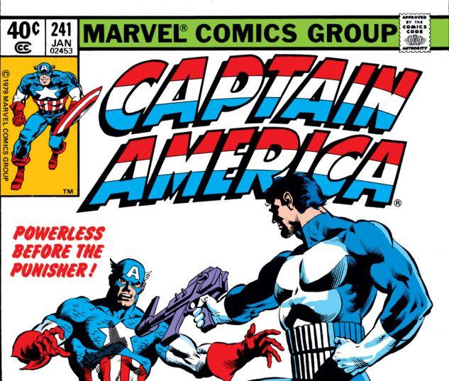 Captain America (1968) #241 Cover