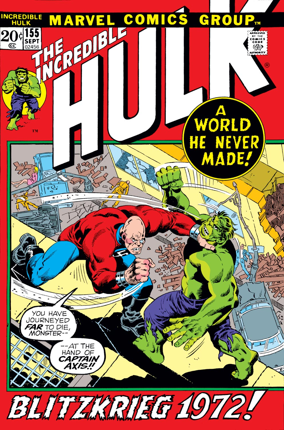 Incredible Hulk (1962) #155