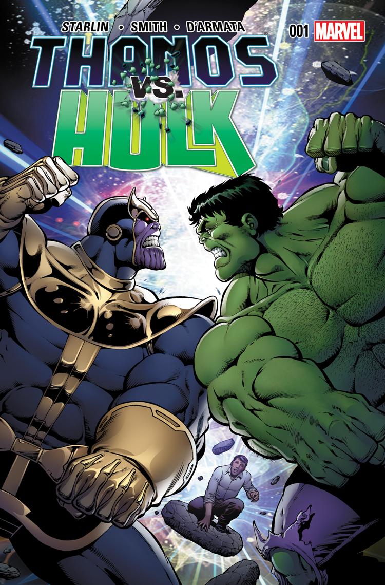 Thanos Vs. Hulk (2014) #1