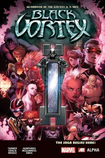 Guardians of the Galaxy & X-Men: The Black Vortex Alpha #1