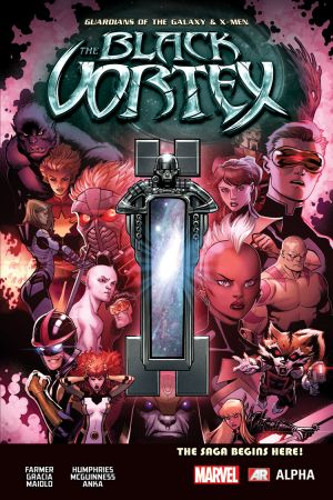 Guardians of the Galaxy & X-Men: The Black Vortex Alpha (2015) #1