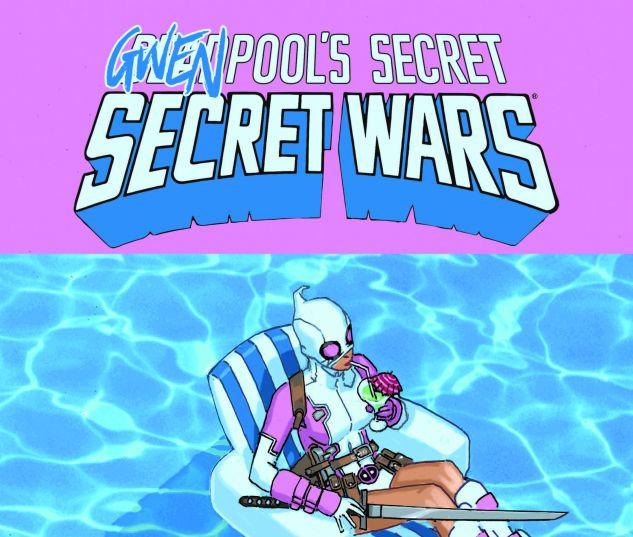DEADPOOL'S SECRET SECRET WARS 2 BACHALO GWENPOOL VARIANT (SW, WITH DIGITAL CODE)