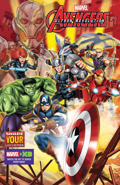 Marvel Universe Avengers: Ultron Revolution (2016) #1