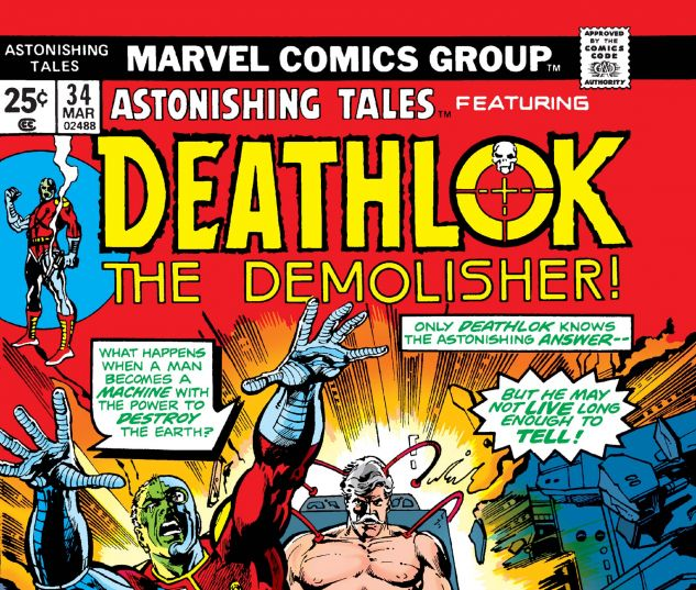 Astonishing Tales (1970) #34