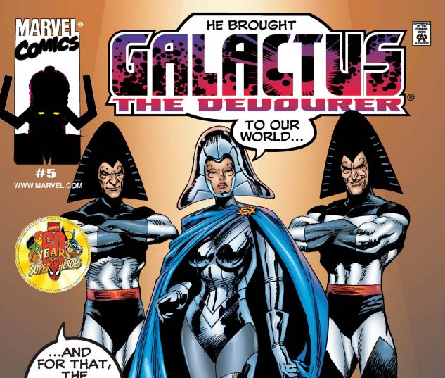 GALACTUS THE DEVOURER (1999) #5