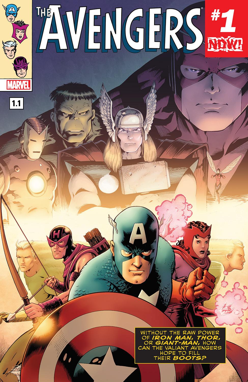 Avengers (2016) #1.1