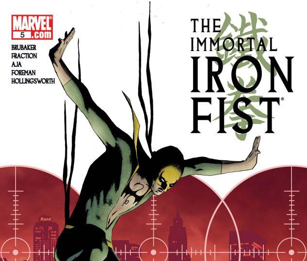Immortal Iron Fist (2006) #5